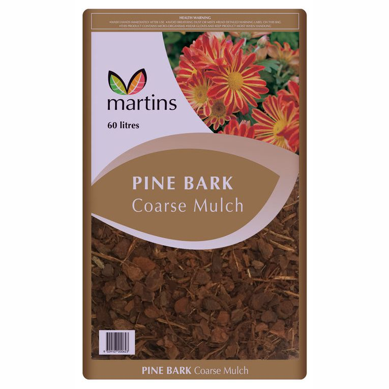 Pine Bark Mulch (60 litres)