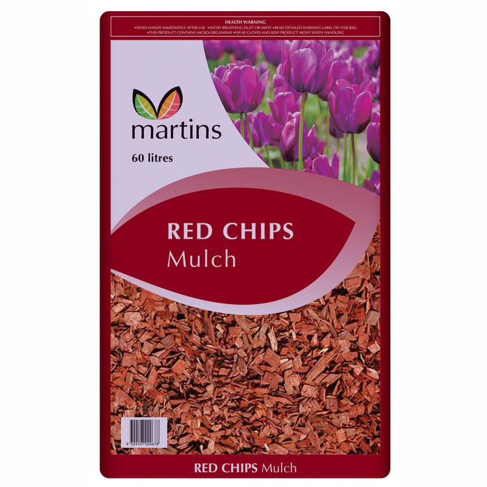 Red Chip Mulch (60 litres)
