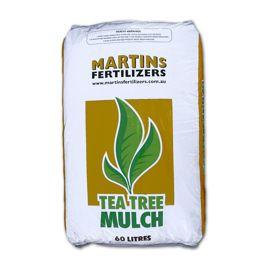 Martins Tea Tree Mulch (60 litres)